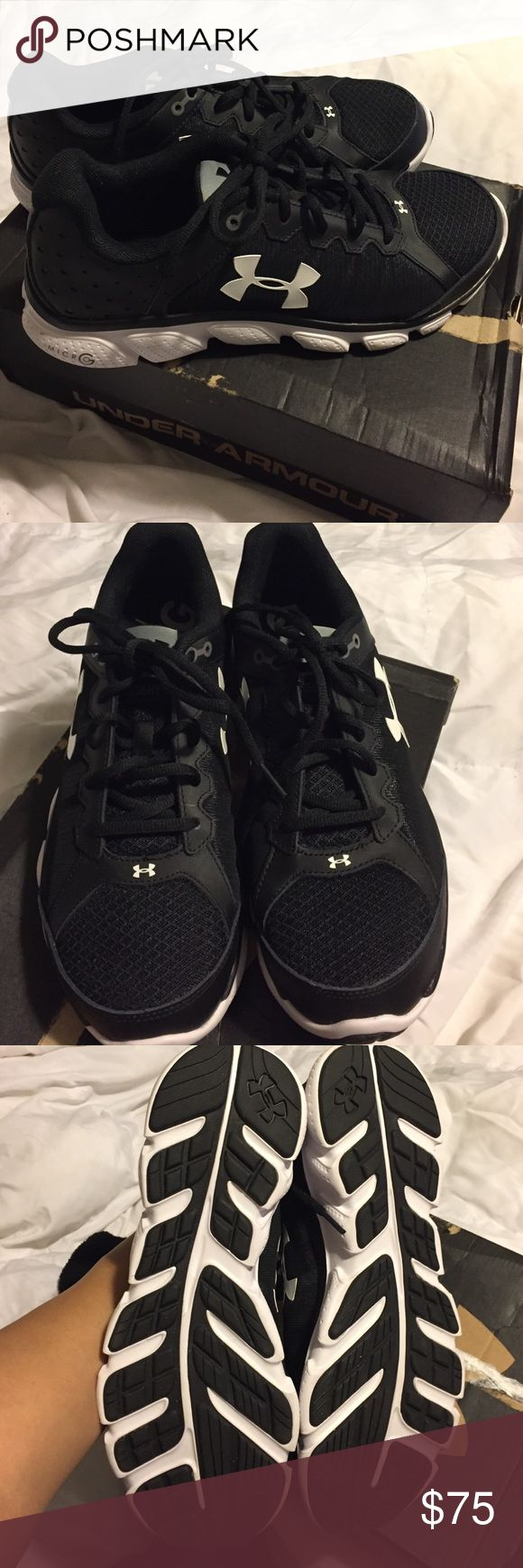New under armour tennis shoes 10 wide New under armour tennis shoes. Size 10 wide Under Armour Shoes Sneakers