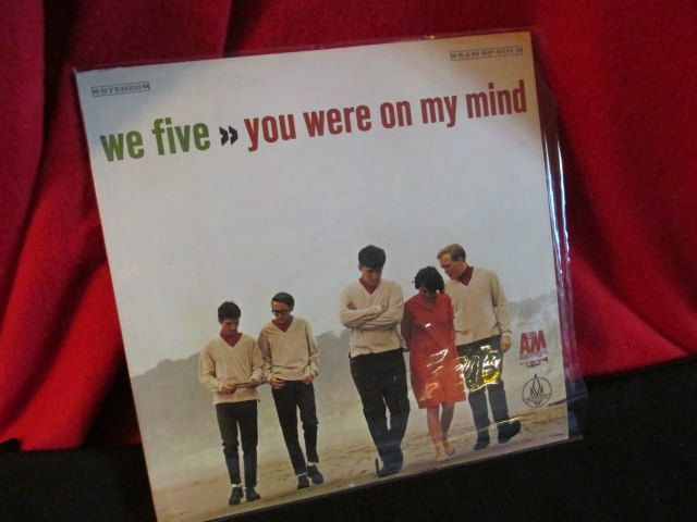 "Vintage Pop Album by We Five ""You Were On My Mind"" by trackerjax on Etsy"