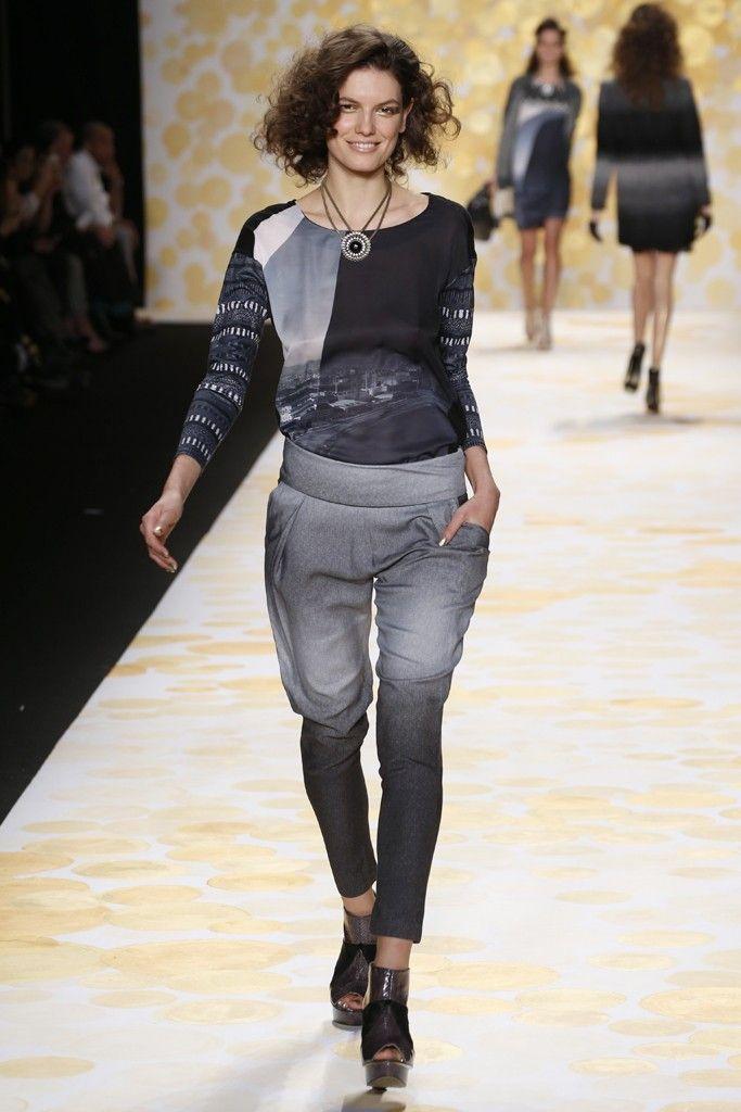 Desigual RTW Fall 2014 - Slideshow - Runway, Fashion Week, Fashion Shows, Reviews and Fashion Images - WWD.com