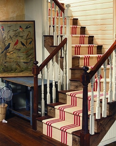 Love this stair runner!