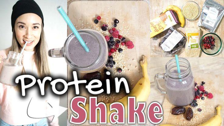 Eiweiß / Protein Shake selber machen - ohne Supplements - Was essen nach...