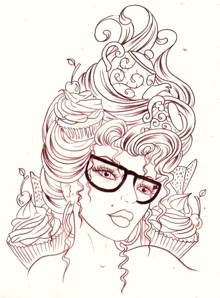 I dream of Cupcakes by Nevermore-Ink on deviantART