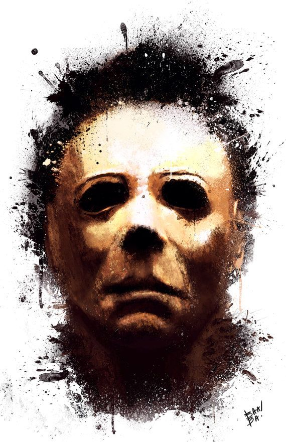 Michael Myers by Anthony Salinas | Horror | Pinterest ...
