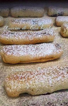 Cuscini di Gesù bambino - ricetta biscotti Natalizi regionali