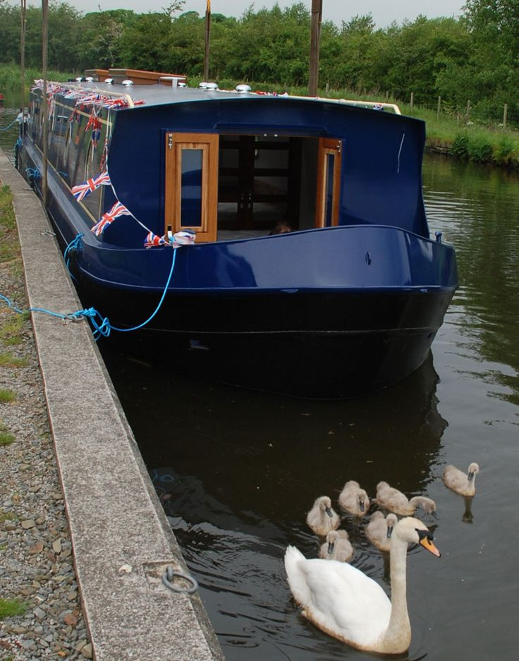 If I were to live on a boat, this is the sort of boat I would like. :)