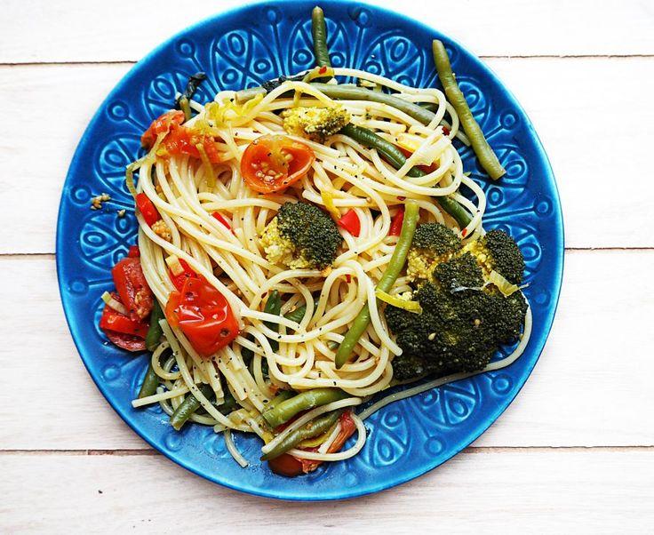 Vegansk One pot pasta