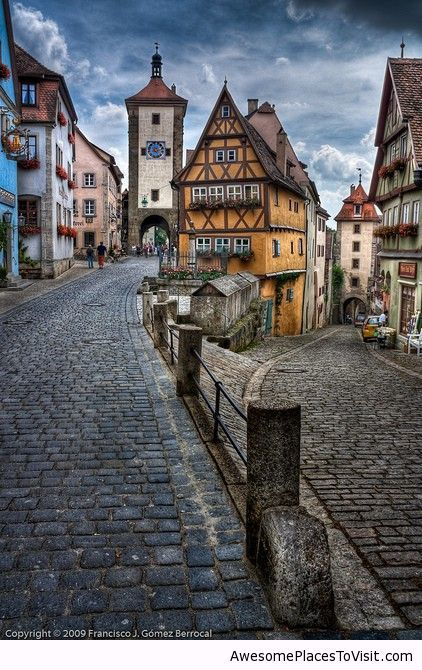 Rothenburg Ob Der Tauber Germany  Awesome Place To Visit
