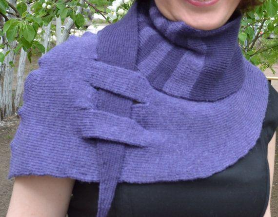 Shawl 1 pattern for machine knitting