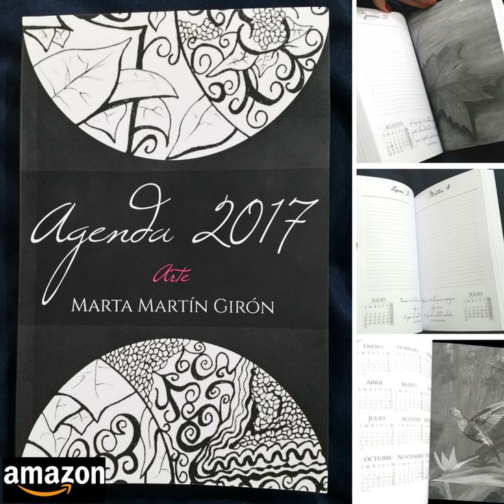 Arte. Agenda 2017 Mi nuevo trabajo para que un pedacito de mí os acompañe a lo largo de todo el 2017, con ilustraciones de algunos de mis cuadros y citas inspiradoras de mi novela 'Contracorriente'. De venta en exclusiva en #Amazon.  Arte. Agenda 2017, celeste: http://leer.la/154061283X Arte. Agenda 2017 fuxia (fucsia): http://leer.la/1540538907   #Agenda2017 #Arte #MartaMartinGiron #FelizViernes