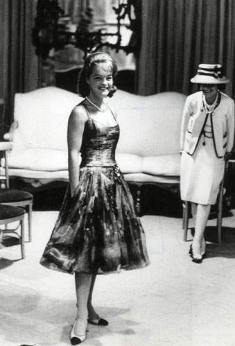 Coco Chanel and Romy Schneider