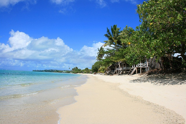 Sleep on the Beach; Savai'i, Samoa