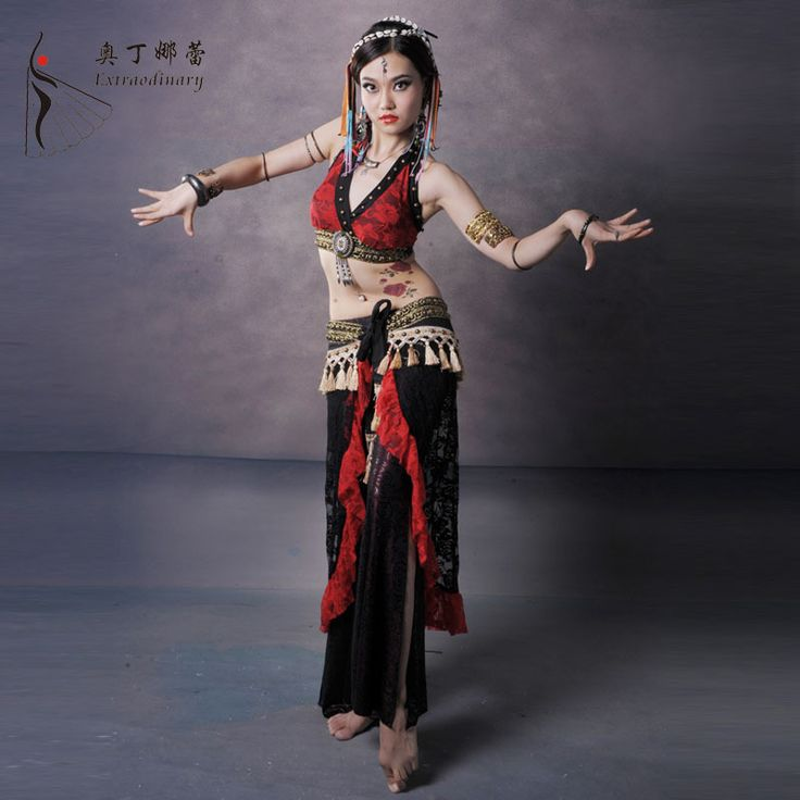 Танец живота костюм профессиональный танец ткань танец живота племя костюмы комплект одежды костюмы для танца живота