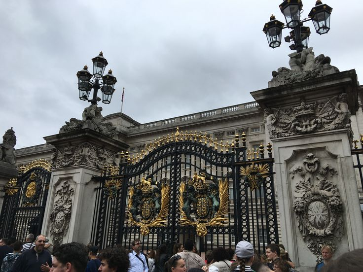 The palace gates