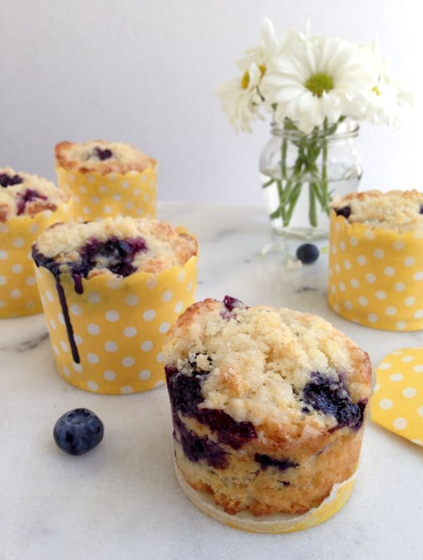 How to Make Blueberry Muffins from Scratch  | CiaoFlorentina.com