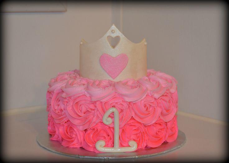 - princess smash cake