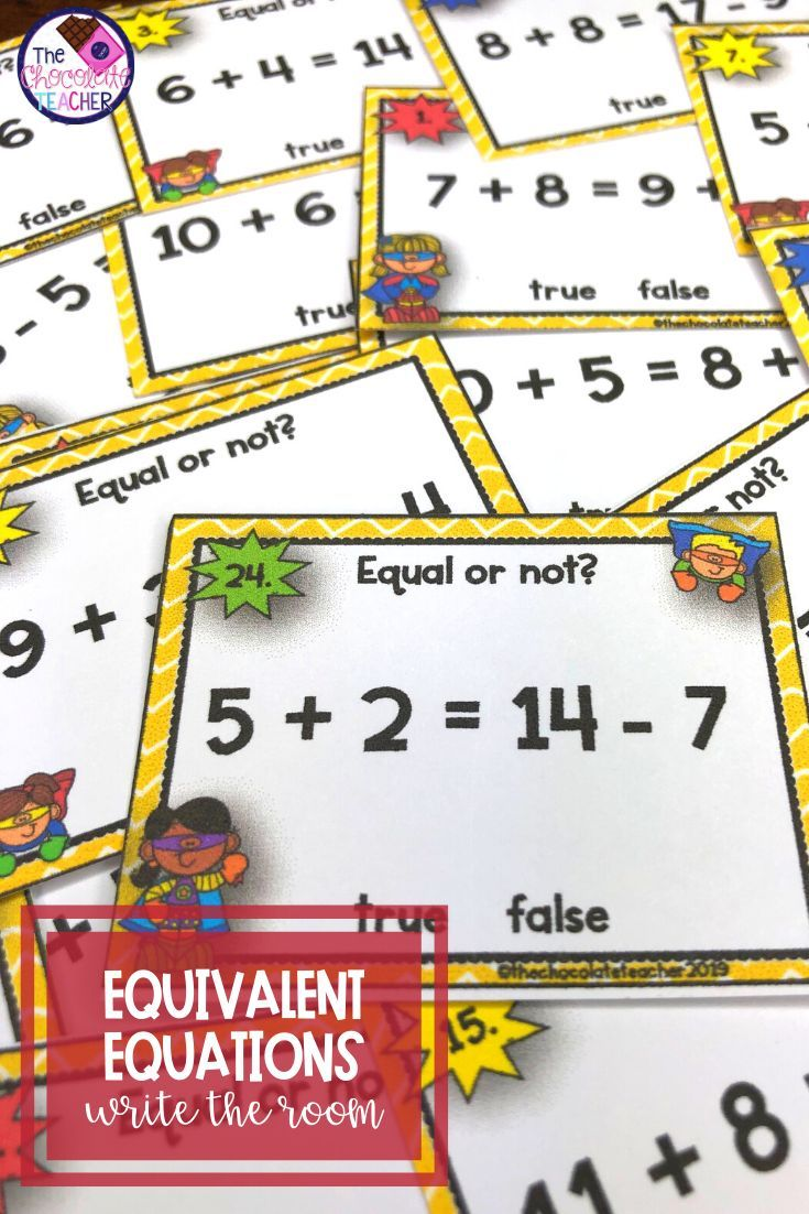 Addition Equivalent Equations Math Writing First Grade Math [ 1102 x 735 Pixel ]