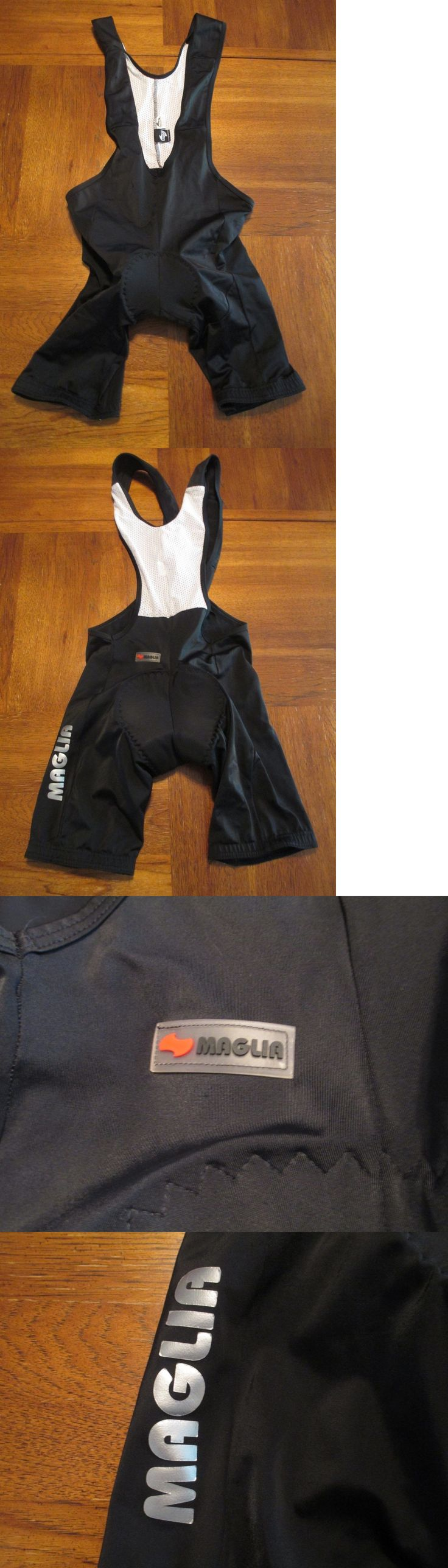 Shorts 177853: New Mens Maglia Sport Spandex Compression Cycling Bib Shorts Xl ~Padded Crotch~ -> BUY IT NOW ONLY: $33.98 on eBay!