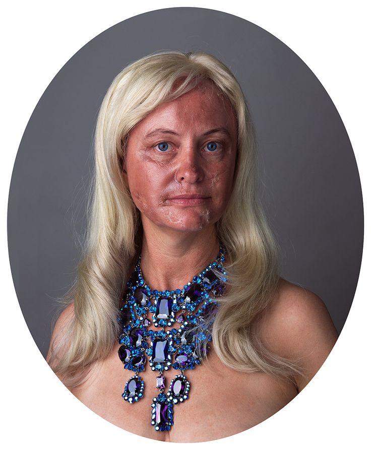 Self Portrait / Portrait with Face Peel