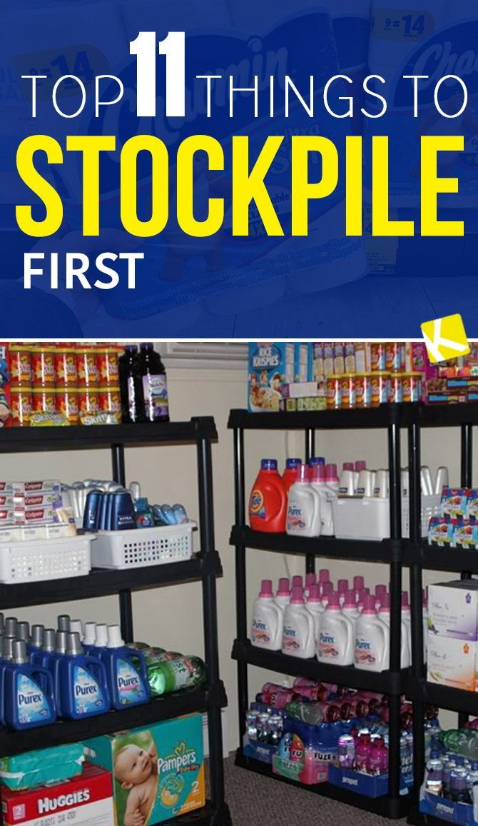 Top 11 Things to Stockpile First