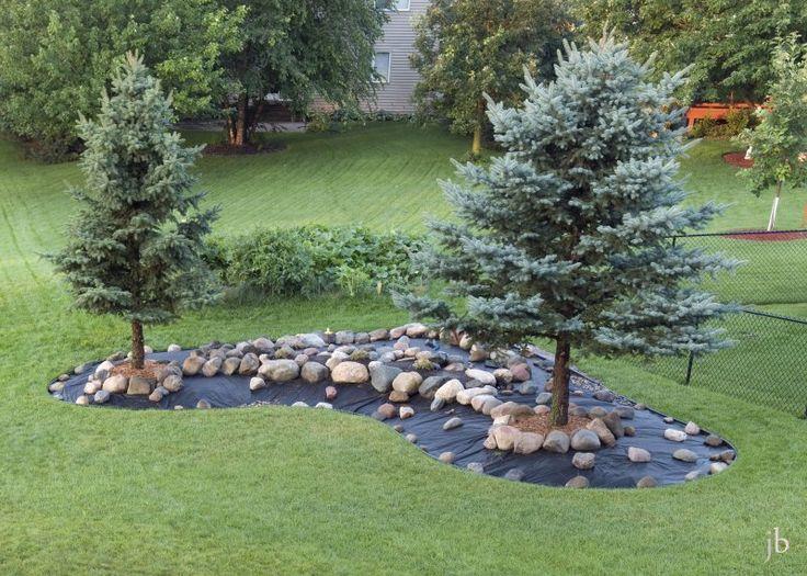 Pin by bev adams on grassless garden ideas pinterest for Landscape berm design