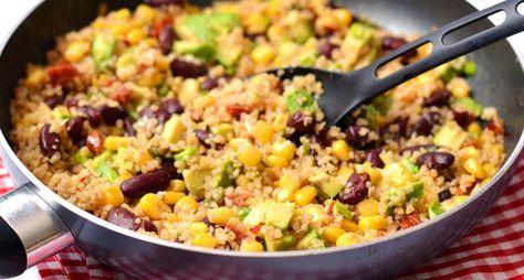 Mexikói vega bulgur recept | APRÓSÉF.HU - receptek képekkel