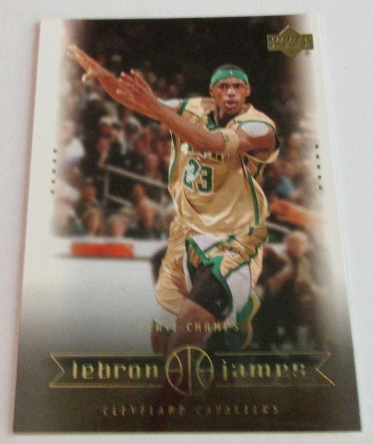 2003-04 UD LeBRON JAMES ROOKIE CARD #2 #ClevelandCavaliers