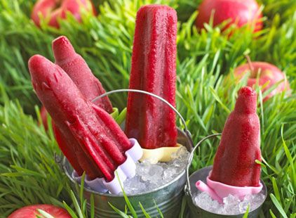 Forest fruit lollies recipe http://realfood.tesco.com/recipes/forest-fruit-lollies.html