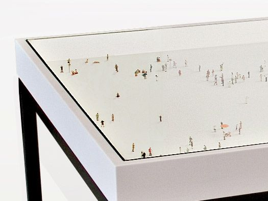 Alone In A Crowd Table by Rolf Sachs