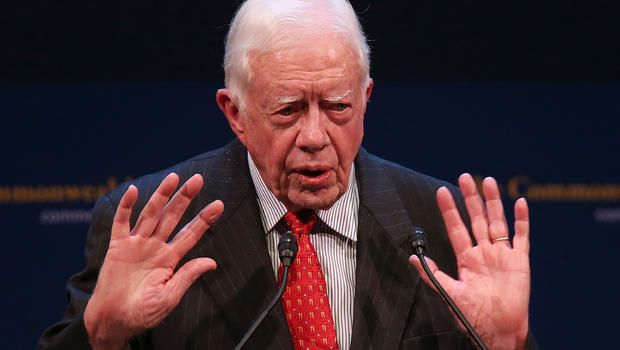 """Jimmy Carter: Reject Keystone XL oil pipeline - """" This leadership by example would usher in a new era where climate change and pollution is given the urgent attention and focus it deserves in a world where the climate crisis is already a daily struggle for so many."""""""