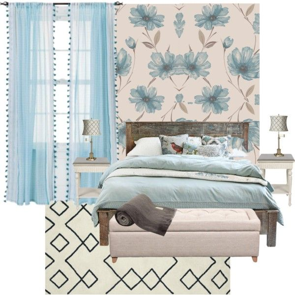 """Romantic Rustic Bedroom"" by shellytot on Polyvore"