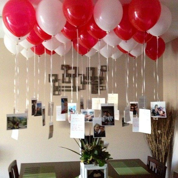 ideas fiestas con globos