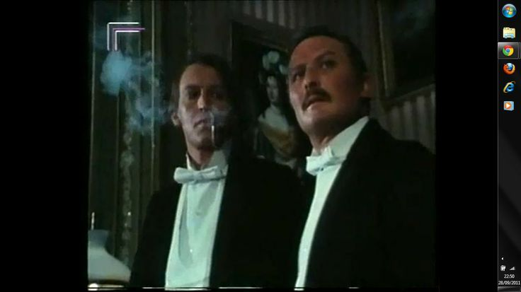 Geoffrey Whitehead as Sherlock Holmes and Donald Pickering as Doctor Watson