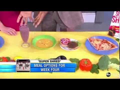 'Super Shred Diet' Week 1 Menu, Grocery List and Bonus Recipes - http://blog.diet-help.org/diet-recipe/super-shred-diet-week-1-menu-grocery-list-and-bonus-recipes/