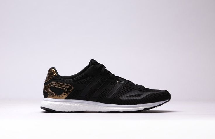"adidas Adizero Adios Boost ""Core Black & Metallic Gold"""