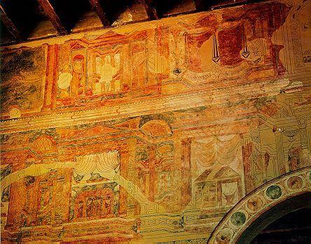 Pinturas murales de la Iglesia de San Julián de los Prados o Santullano. -13