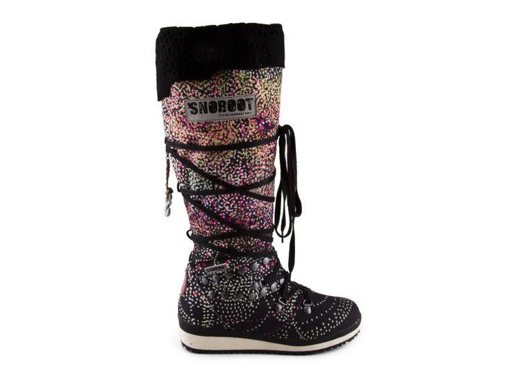 Snoboot - Stylové módní sněhule Braille High Black / černá   obujsi.cz - dámská, pánská, dětská obuv a boty online, kabelky, módní doplňky