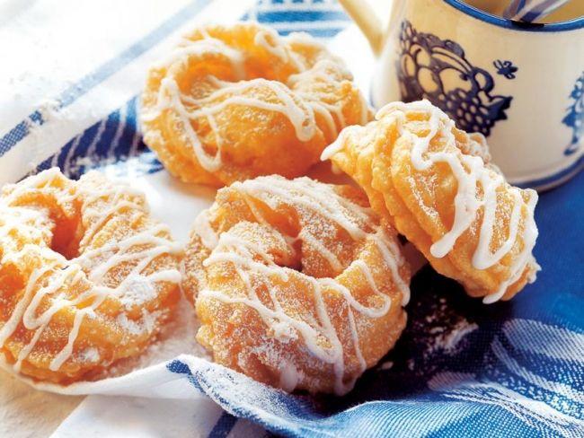 Pączki wiedeńskie z ciasta parzonego - przepis -Przepis