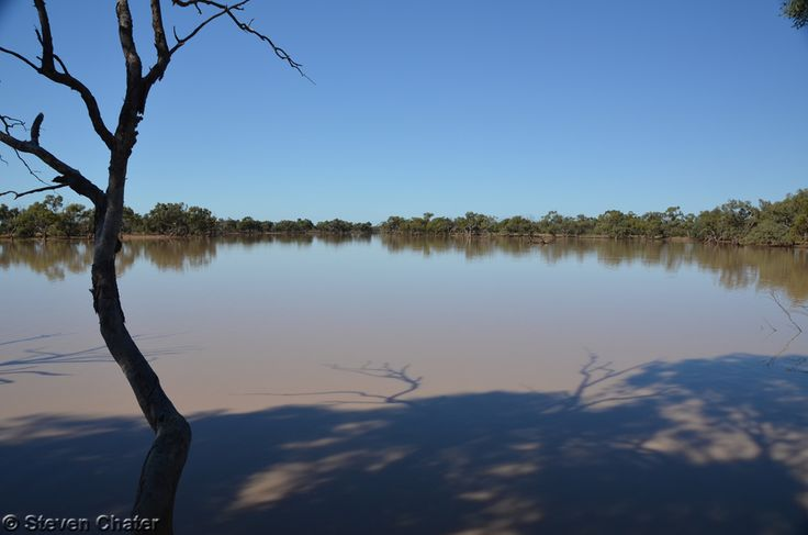 Kilcowera have camp sites at locations that have atmosphere; this one with a great view of the main lagoon