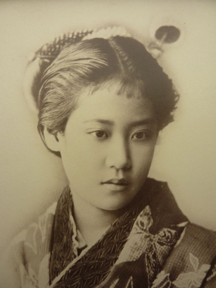 Antique Cabinet Photo Young Japanese Girl Adolfo Farsari 1890'S | eBay