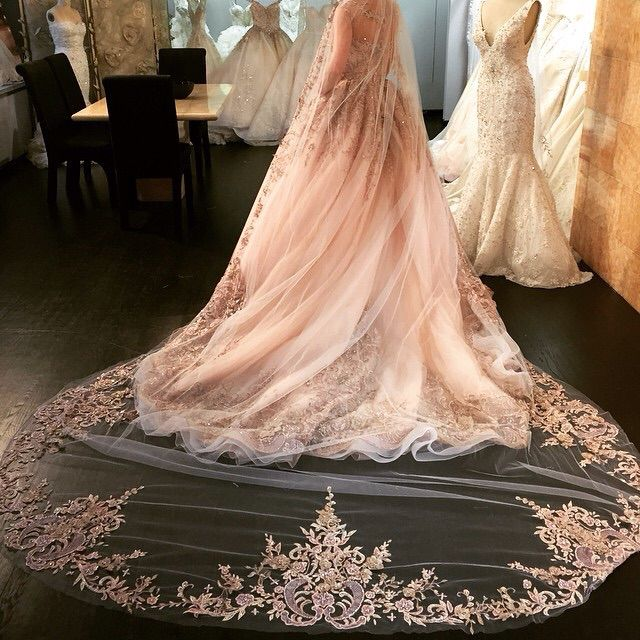 Beautiful lace wedding dress simple and elegant don't know the source but I want one