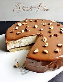 Une idée de dessert pour la fête des pères : un entremets praliné noisettes et chocolat !