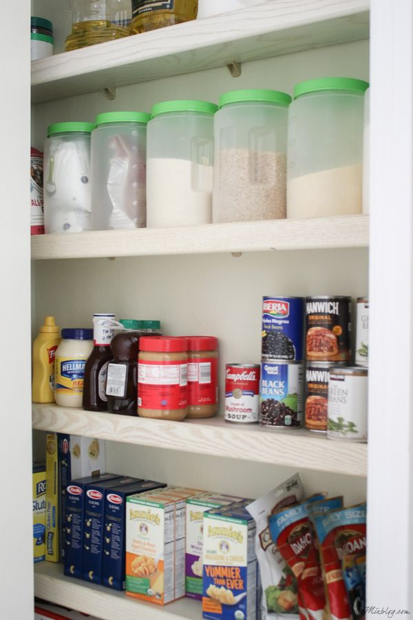 Kitchen Organization Ideas And Minimalist Checklist Pantry
