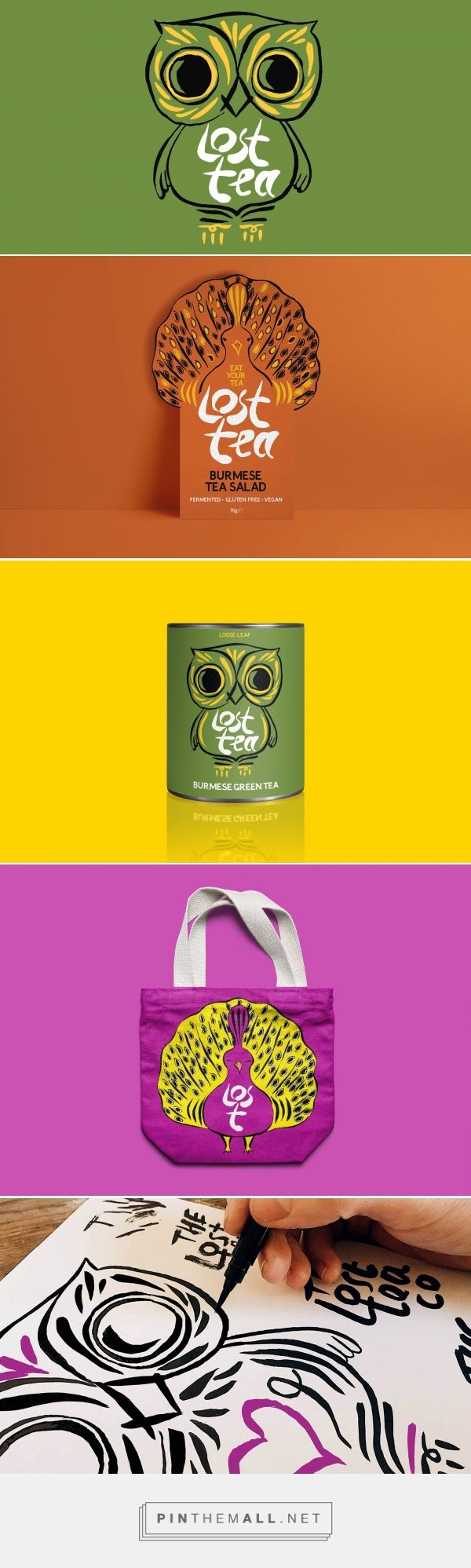 The Lost Tea Company packaging design by Design by country - http://www.packagingoftheworld.com/2017/06/the-lost-tea-company.html