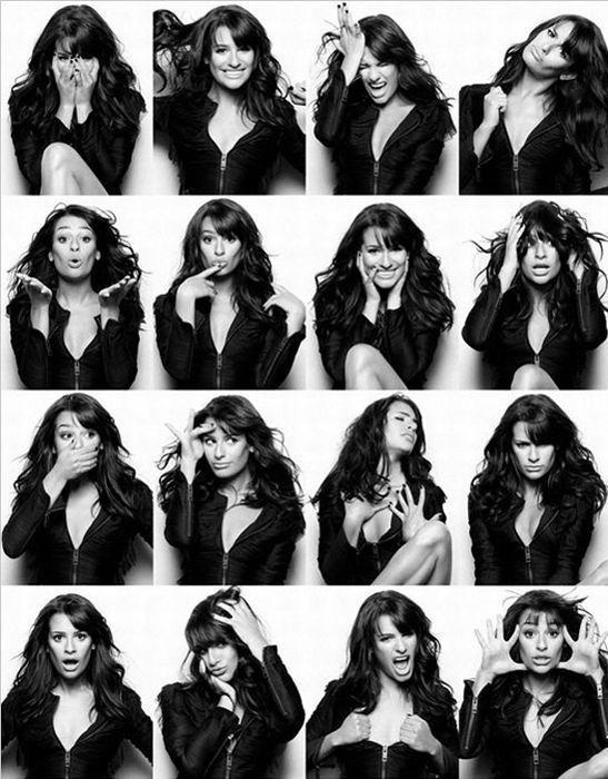 poses y expresiones