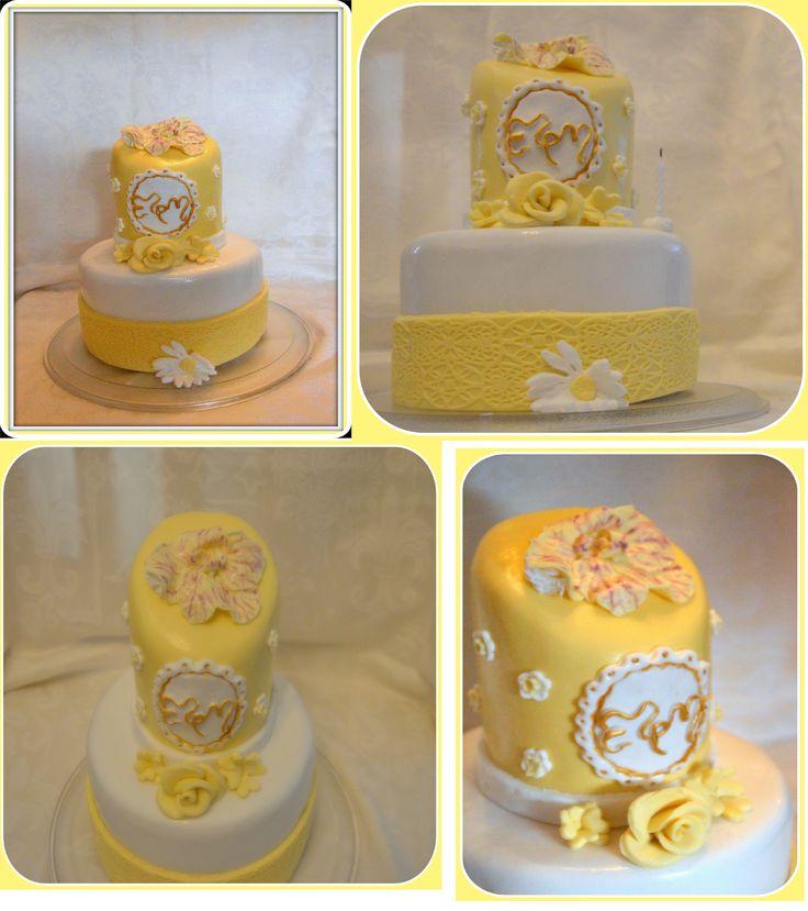 Τούρτα γενεθλίων! xxx σοκολατένιο κέικ, με γέμιση βελούδινης ιταλικής βουτυρόκρεμας και ganache!  Birthday cake for a lady! xxchocolate cake, filled with italian meringue buttercream and ganache!!