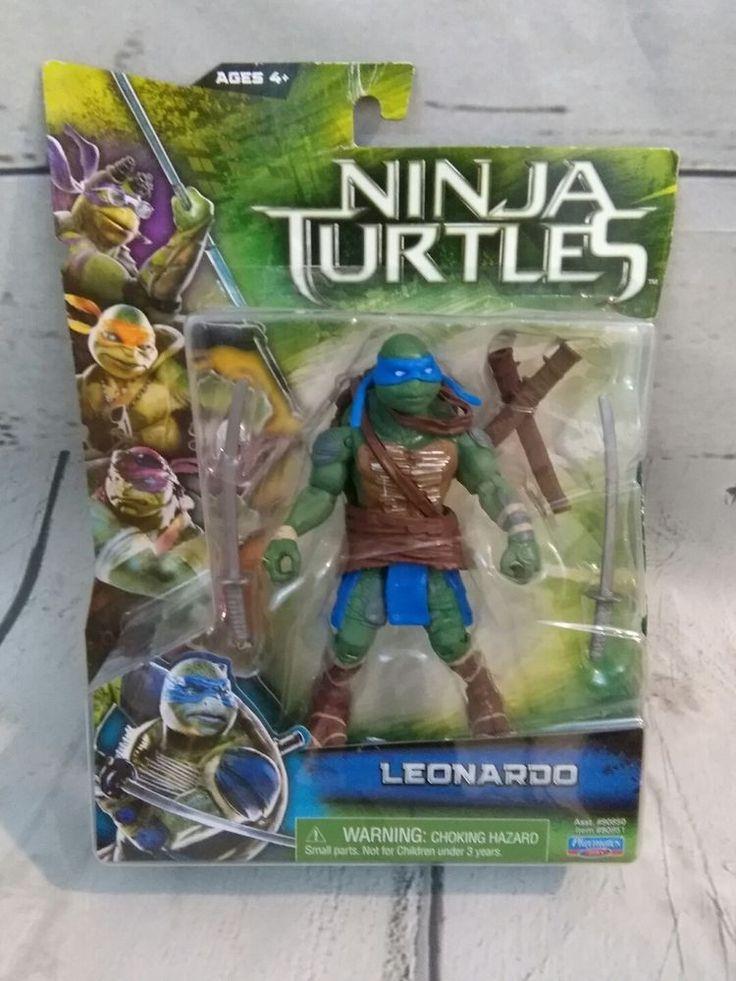 Leonardo Movie Basic Action Figures Teenage Mutant Ninja Turtles Toys New #PlaymatesToys