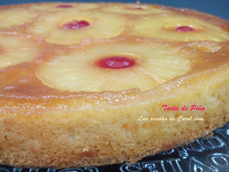 Esta #tarta de #piña queda realmente deliciosa, no te pierdas la #receta completa en el blog. http://lasrecetasdecarol.com/2016/03/31/juego-de-blogueros-2-0-tarta-de-pina