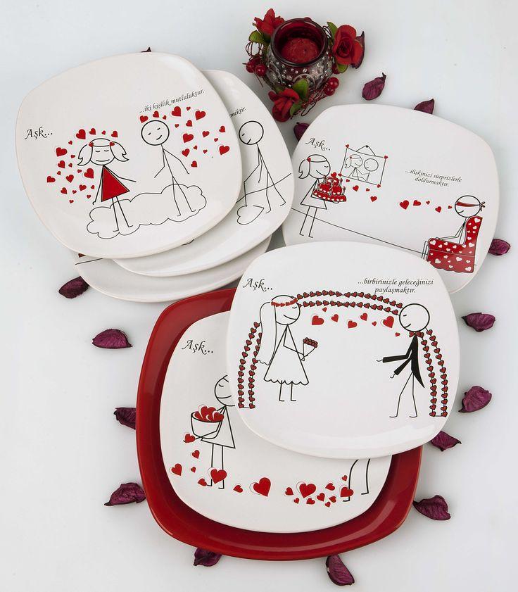 www.facebook.com/... twitter.com/... instagram.com/... www.keramika.com.tr www.keramikashop.com  #red #white #kırmızı  #beyaz #aşk #love #lovely #sevgili #pasta #sevgililergünü #sofra #keramika #keramikashop #keramikaseramik #mutfaklarınızırenklendiriyoruz #seramik