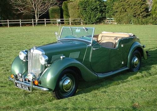 1949 MG YT Tourer Maintenance/restoration of old/vintage vehicles: the material for new cogs/casters/gears/pads could be cast polyamide which I (Cast polyamide) can produce. My contact: tatjana.alic@windowslive.com