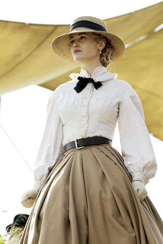 Lily Bell (Dominique McElligott) - Hell On Wheels - I just loved her so much ):
